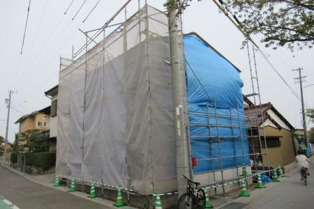 「東町の家」屋根葺き工事_b0179213_19573382.jpg
