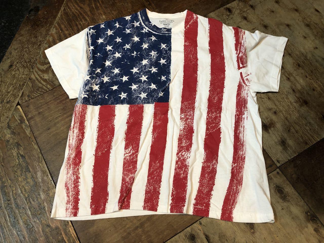 4月20日(土)入荷! アメリカンフラッグ柄 Tシャツ!_c0144020_14040657.jpg