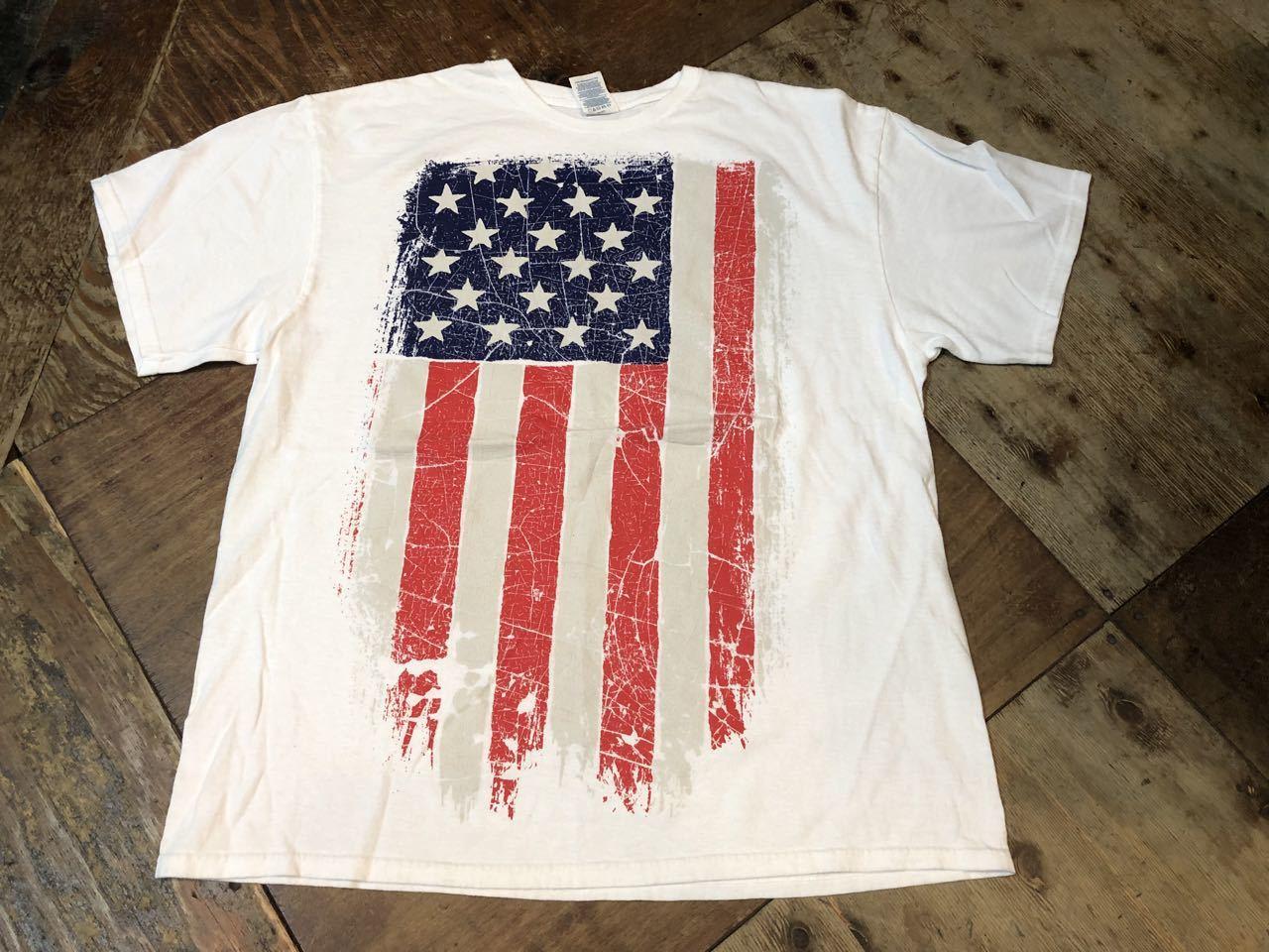 4月20日(土)入荷! アメリカンフラッグ柄 Tシャツ!_c0144020_14041019.jpg