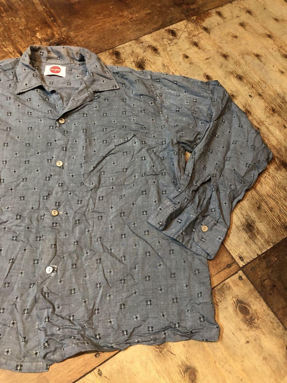 4月20日(土)入荷!60s PILGRIM レーヨン オープンカラーシャツ!_c0144020_14141161.jpg