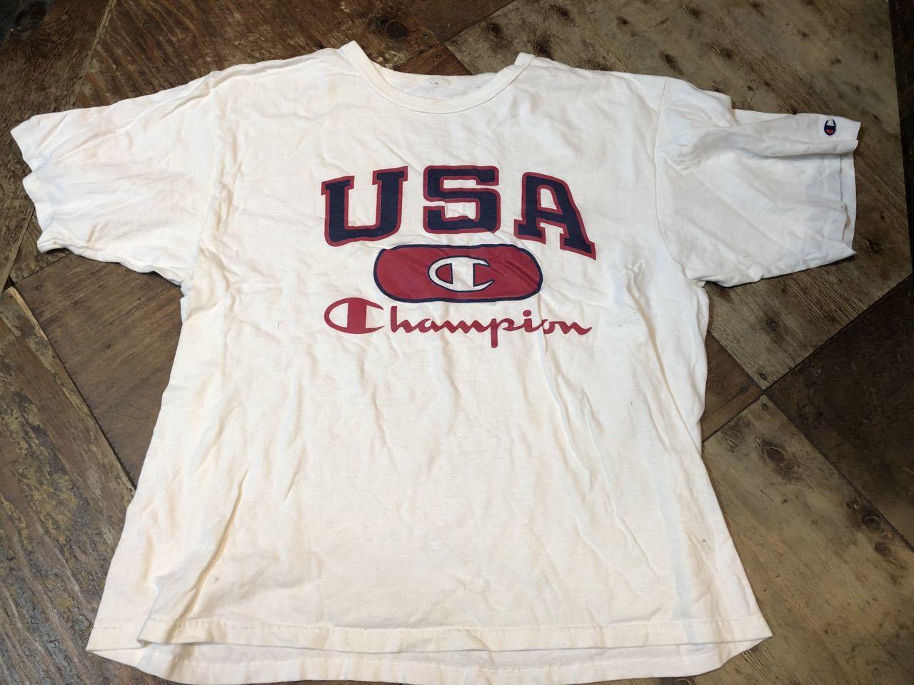 4月20日(土)入荷!80s~all cotton champion Tシャツ!_c0144020_14384156.jpg