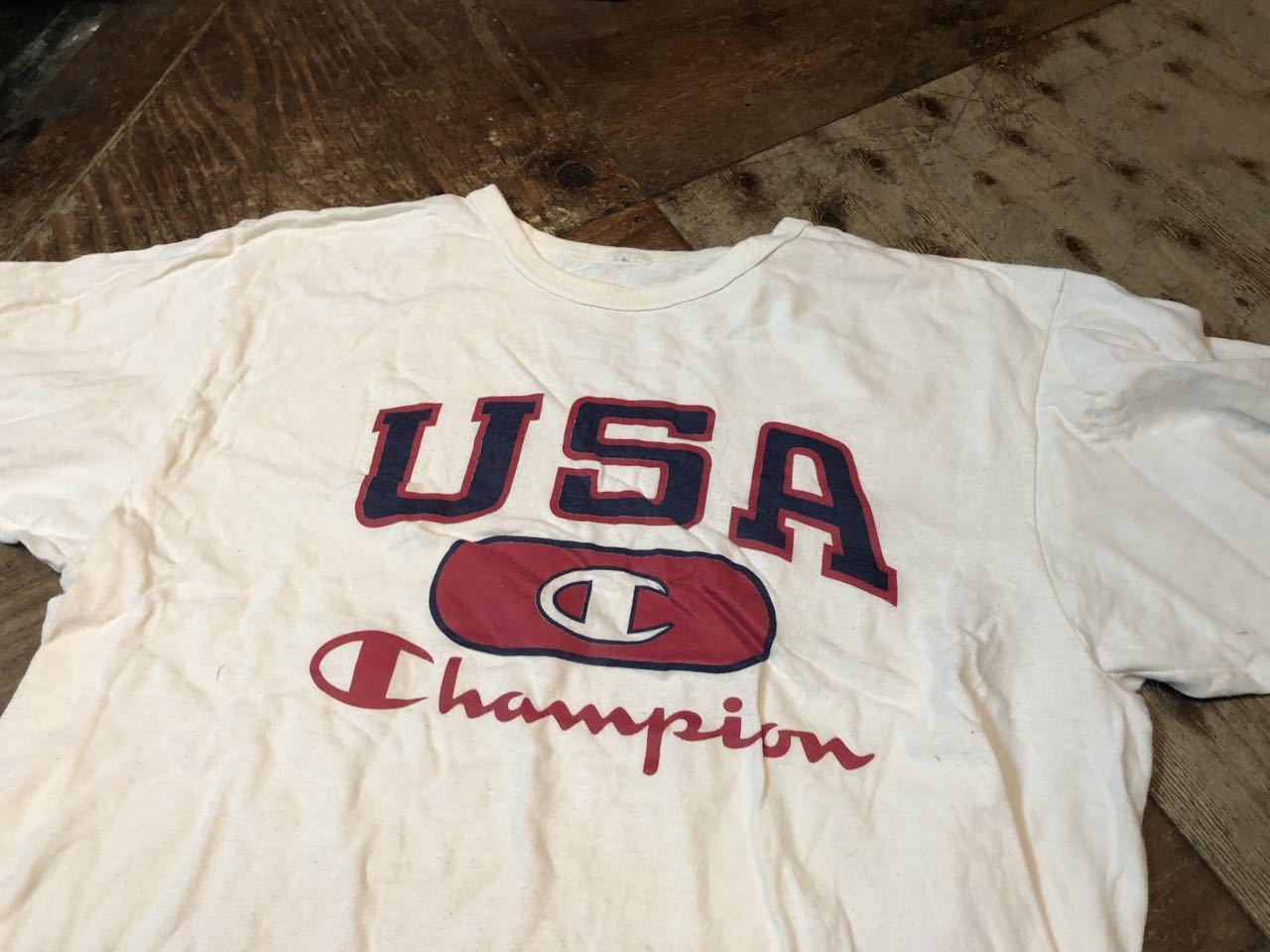 4月20日(土)入荷!80s~all cotton champion Tシャツ!_c0144020_14384309.jpg