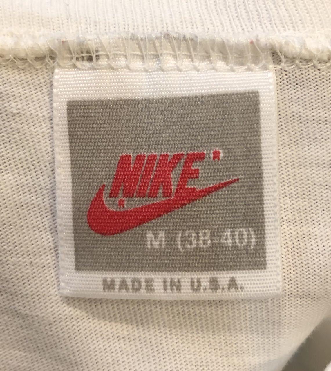 4月20日(土)入荷!MADE IN U.S.A 80s NIKE  PENN STATE foot ball Tシャツ!_c0144020_14444691.jpg