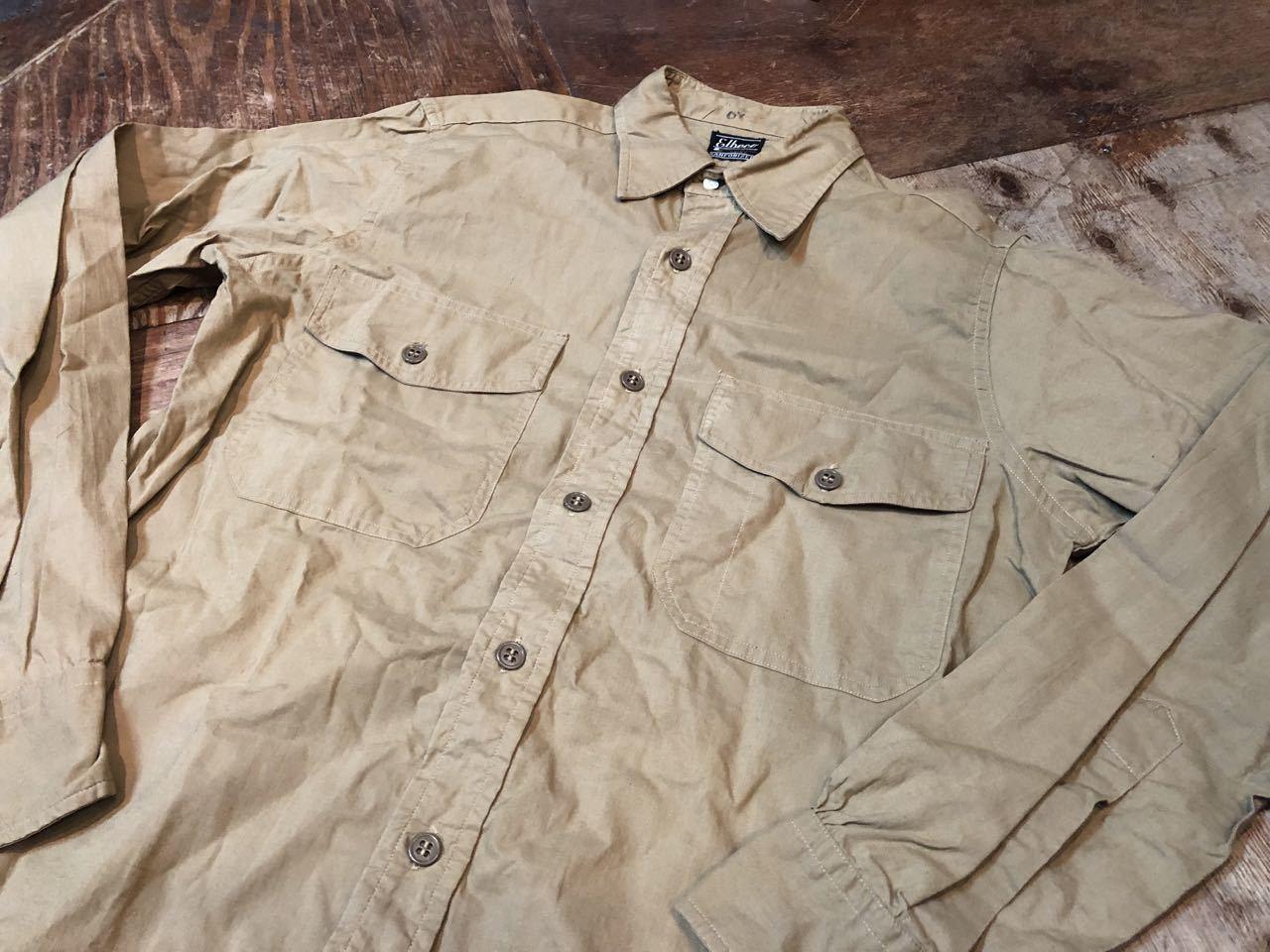 4月20日(土)入荷!50s マチ付き Elbeco  SANFORIZED WORKシャツ!_c0144020_14481506.jpg