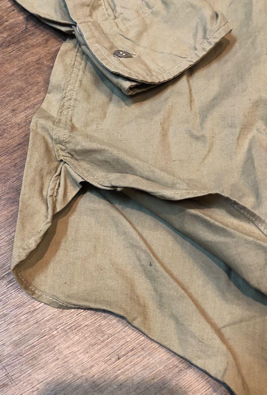 4月20日(土)入荷!50s マチ付き Elbeco  SANFORIZED WORKシャツ!_c0144020_14481607.jpg