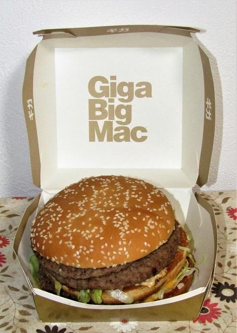【マック】ギガビッグマック2019~忘れたし、内容ないし。。_b0081121_06144779.jpg