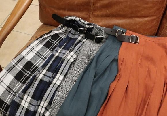 2019年 春夏のオニールオブダブリン リネンキルトスカートです。_c0227633_12473028.jpg