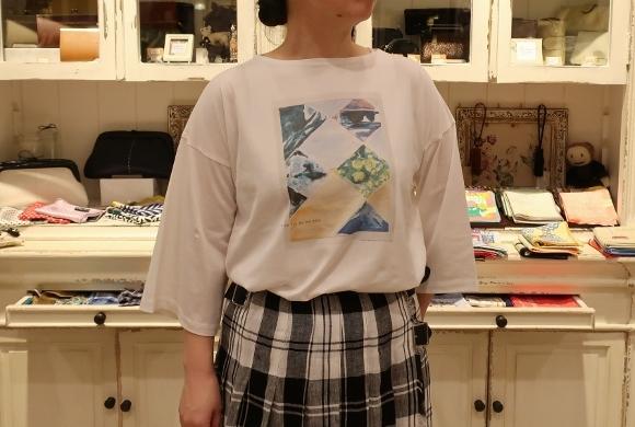 2019年 春夏のオニールオブダブリン リネンキルトスカートです。_c0227633_12495562.jpg