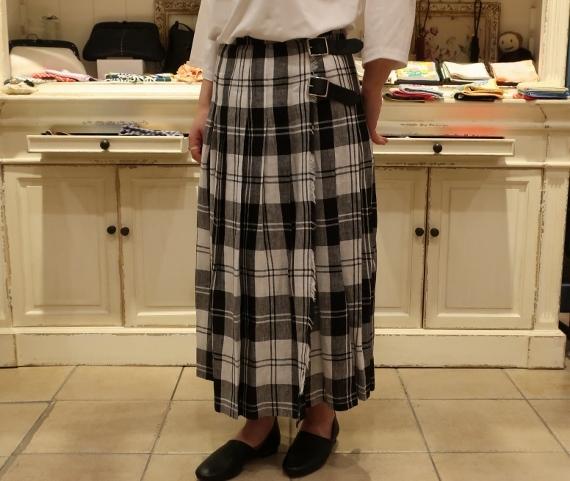 2019年 春夏のオニールオブダブリン リネンキルトスカートです。_c0227633_12505007.jpg