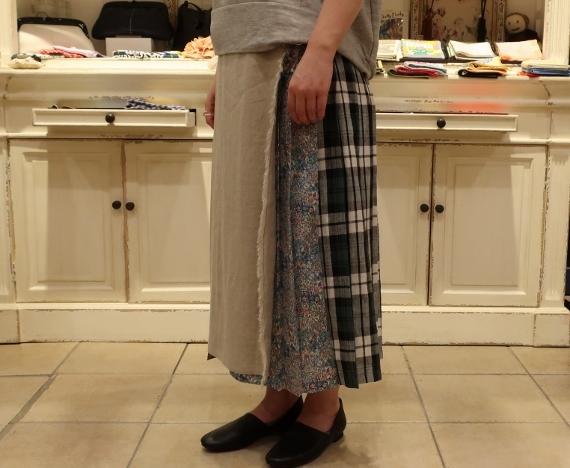 2019年 春夏のオニールオブダブリン リネンキルトスカートです。_c0227633_12520573.jpg