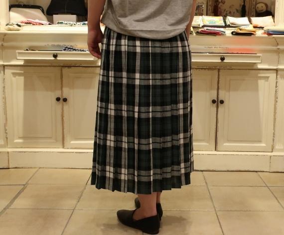 2019年 春夏のオニールオブダブリン リネンキルトスカートです。_c0227633_12521720.jpg