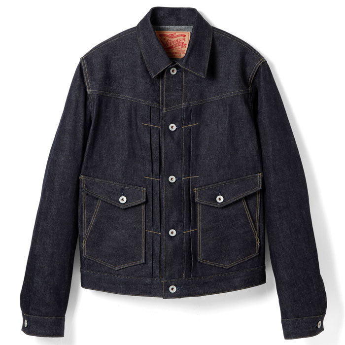 STEVENSON OVERALL CO. FRONT PLEATED WORK JACKET - Rancher (202) RIGID_c0196434_13420366.jpg