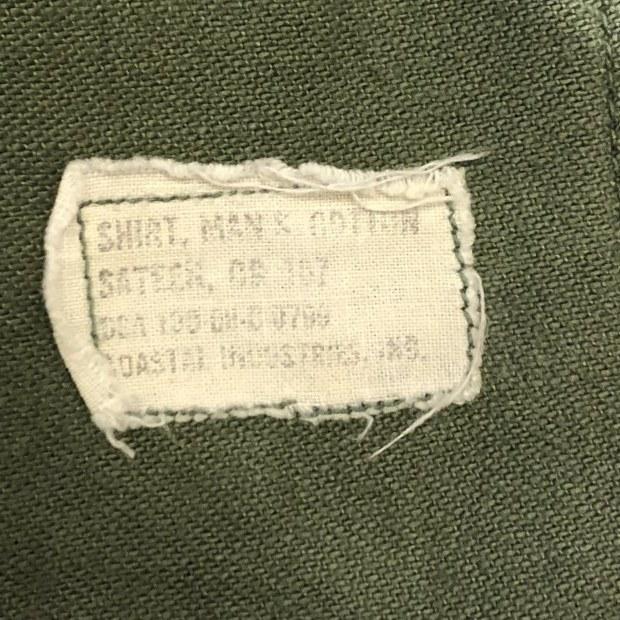 """60\'s \""""U.S.Military\"""" ユーティリティーシャツ!!!!!_c0355834_19115148.jpg"""