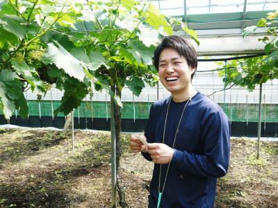 熊本ぶどう 社方園 今年も順調に花が咲きました!花セットの様子と匠の技を学ぶ研修生の話(前編)_a0254656_18420152.jpg