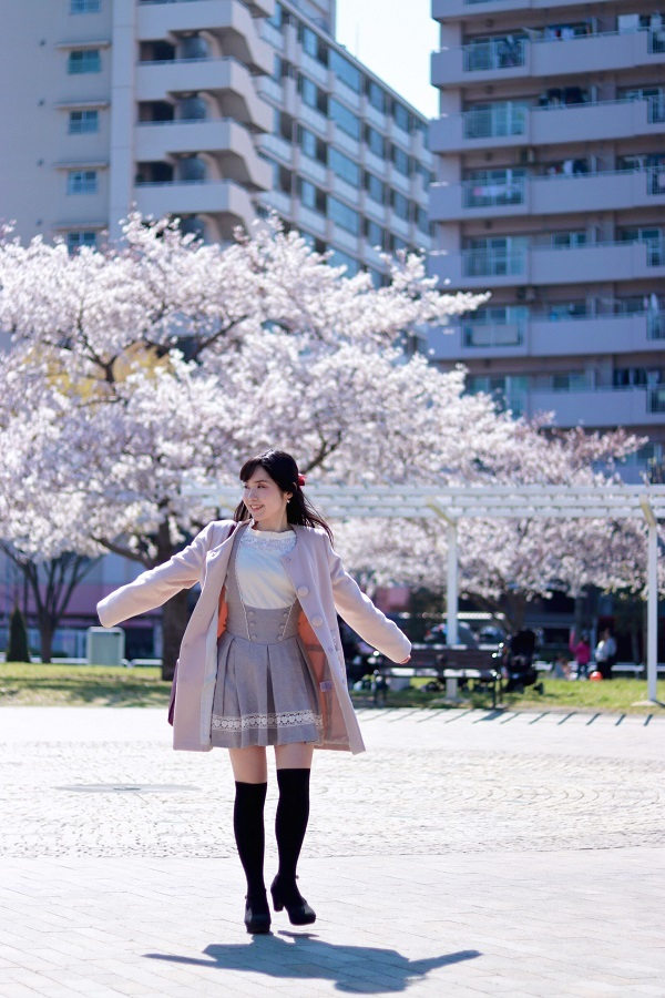 スカイツリーとさくらとニーハイ♡_d0039189_20075200.jpg