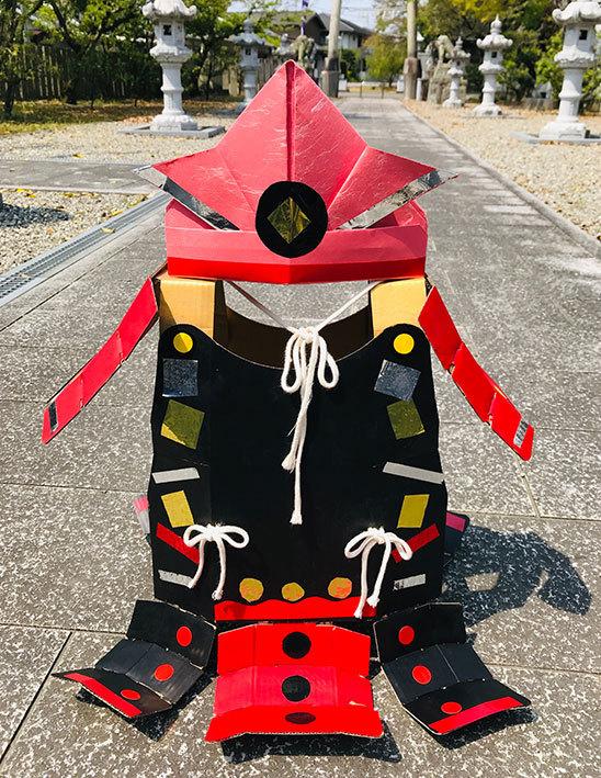 オリジナル甲冑作り@ 徳島城博物館_f0043592_20422486.jpg