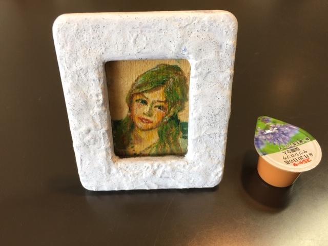 母の日のプレゼントに 油絵の肖像画_b0151508_11170316.jpg