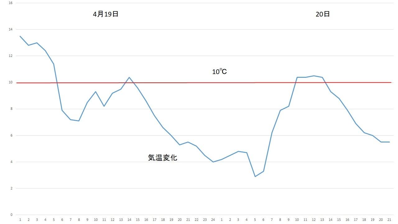 10℃をはさんだ攻防_c0025115_21492039.jpg
