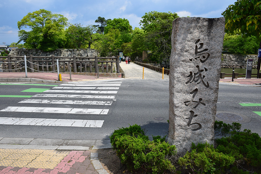 漆黒の烏城、備前岡山城を歩く。 その1「内堀~大手門」_e0158128_20150226.jpg