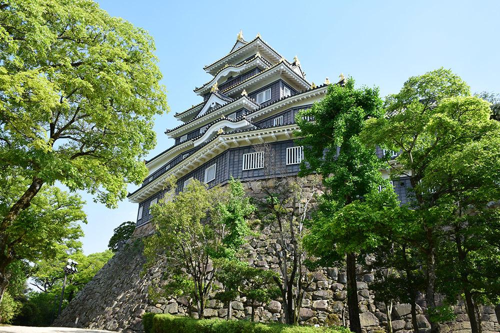 漆黒の烏城、備前岡山城を歩く。 その2「本丸下の段」_e0158128_21074916.jpg