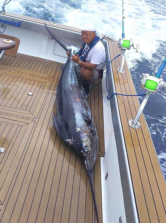 琉球BGFT初日、カジキが釣れています。_f0009039_14074293.jpg