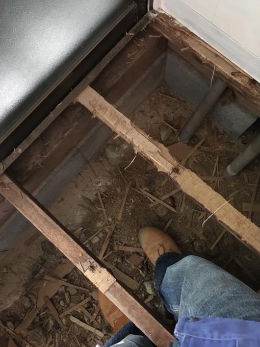 洗面所その4。床です。_f0182246_21042563.jpg