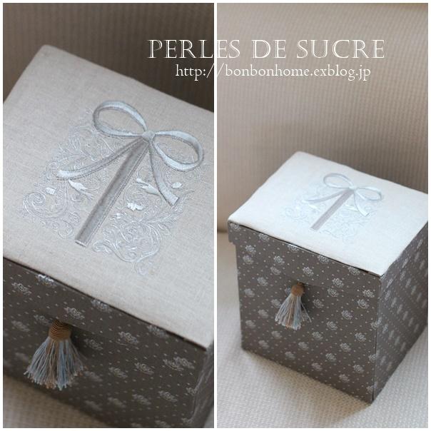 自宅レッスン 紅茶入れの箱 バッグ型の箱 丸箱_f0199750_10052076.jpg