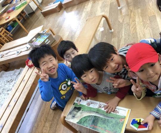 幼稚園楽しいよ〜^_^_f0324461_16095160.jpg