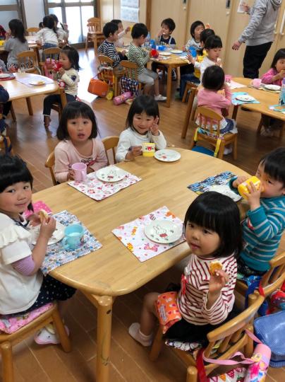 幼稚園楽しいよ〜^_^_f0324461_17521085.jpg