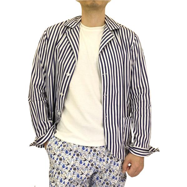 Salvatore Piccolo サルヴァトーレ・ピッコロ ロンドンストライプシャツジャケット(ジャッカ・シマジ)_c0118375_16122328.jpeg