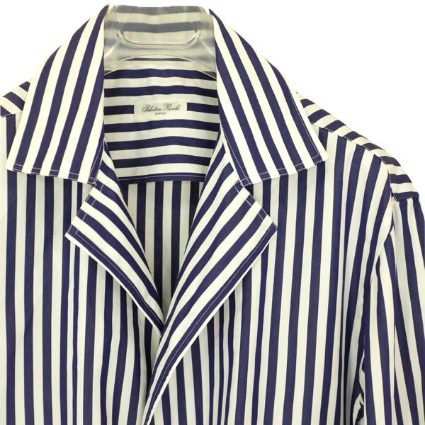 Salvatore Piccolo サルヴァトーレ・ピッコロ ロンドンストライプシャツジャケット(ジャッカ・シマジ)_c0118375_16123754.jpeg