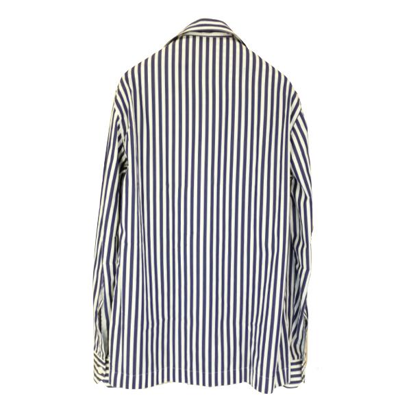 Salvatore Piccolo サルヴァトーレ・ピッコロ ロンドンストライプシャツジャケット(ジャッカ・シマジ)_c0118375_16124776.jpeg