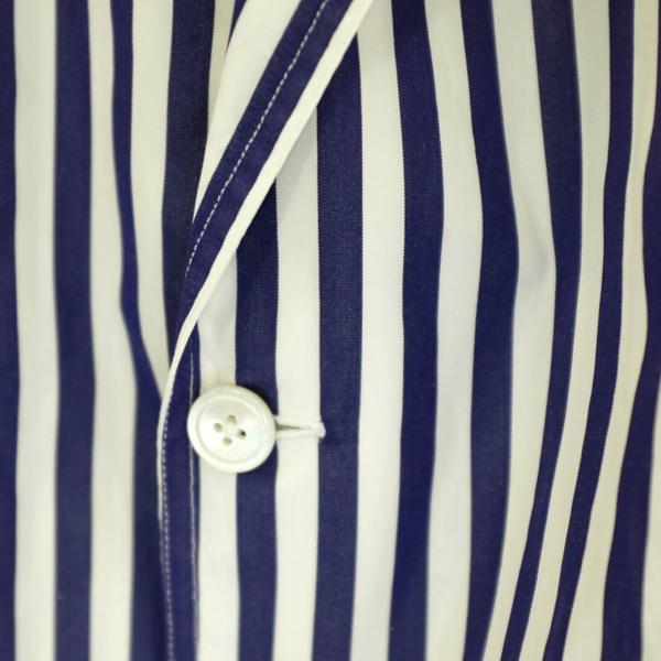 Salvatore Piccolo サルヴァトーレ・ピッコロ ロンドンストライプシャツジャケット(ジャッカ・シマジ)_c0118375_16130460.jpeg