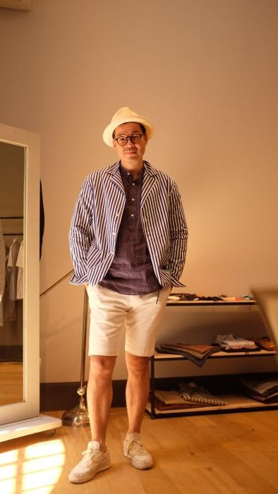 Salvatore Piccolo サルヴァトーレ・ピッコロ ロンドンストライプシャツジャケット(ジャッカ・シマジ)_c0118375_17445503.jpg
