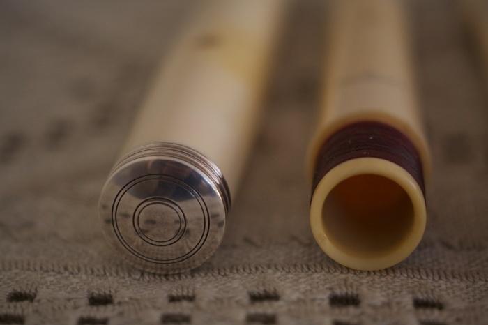 フラウト・トラヴェルソ4 Ivory Cahusac Flute by Cameron_f0042194_10544316.jpg