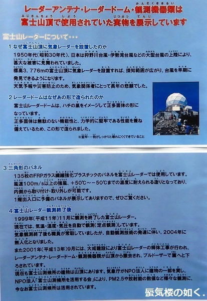 コミック「ゆるキャン△」モデル地紹介パネル展(富士山レーダードーム館2019.3.8-5.6)に行きました_e0304702_19205348.jpg