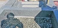 神戸市営墓園で現代墓石_e0363711_10055723.jpg
