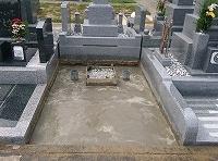 神戸市営墓園で現代墓石_e0363711_10055734.jpg