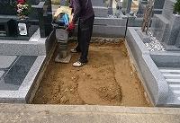 神戸市営墓園で現代墓石_e0363711_10055800.jpg