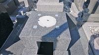 神戸市営墓園で現代墓石_e0363711_10055849.jpg
