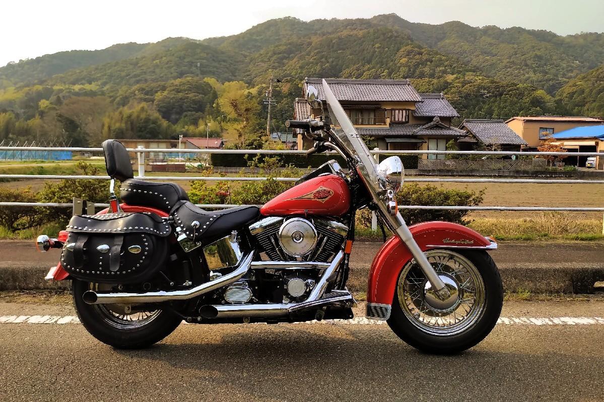 納車〜久々のバイクだ..._a0159215_00251828.jpg