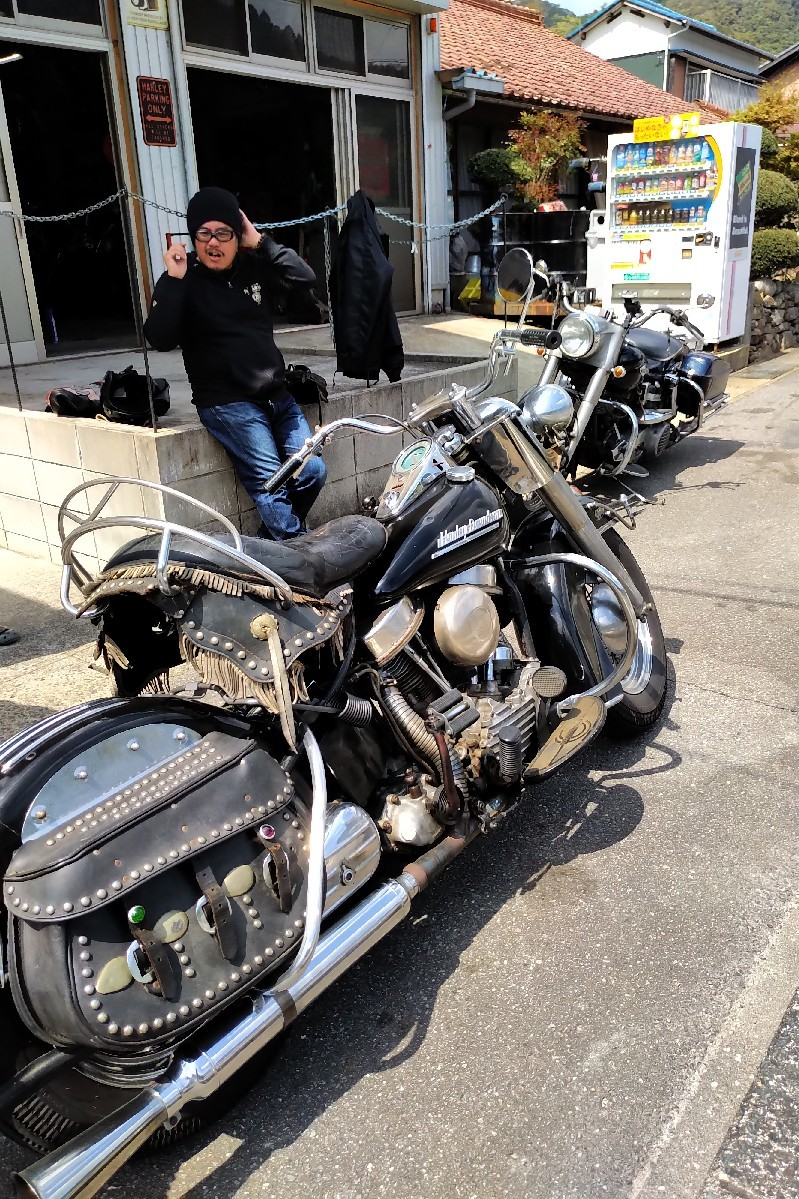 納車〜久々のバイクだ..._a0159215_00285315.jpg