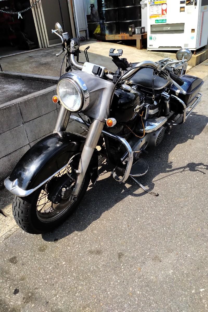 納車〜久々のバイクだ..._a0159215_00285321.jpg
