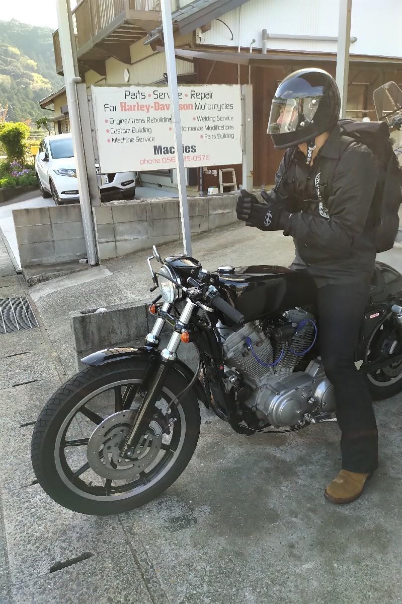 納車〜久々のバイクだ..._a0159215_00334220.jpg
