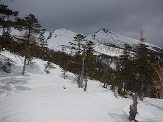 上はカリカリ、下はグサグサでギャフン…御嶽山_c0359615_20341966.jpg