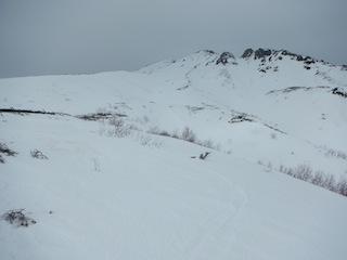 上はカリカリ、下はグサグサでギャフン…御嶽山_c0359615_20344166.jpg