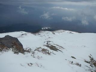 上はカリカリ、下はグサグサでギャフン…御嶽山_c0359615_20350219.jpg