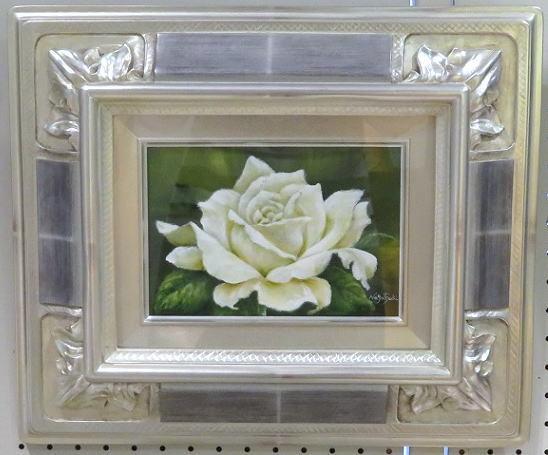 白薔薇の油絵_b0089338_23441438.jpg
