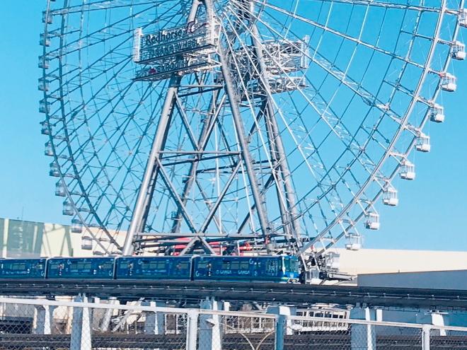 大阪 高さ日本一の大観覧車(レッドホース オオサカホイール) in 万博記念公園 _e0227942_21513107.jpg