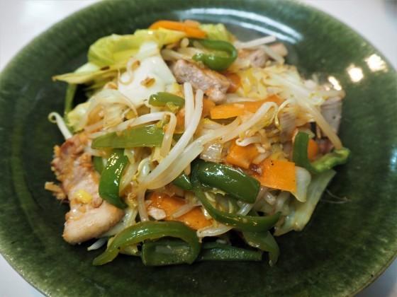 野菜炒めと炊き立てごはん - sobu 2
